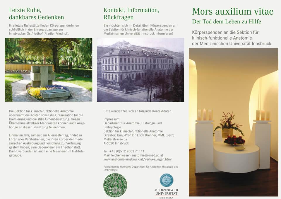 Verfügungen : Anatomie-Innsbruck